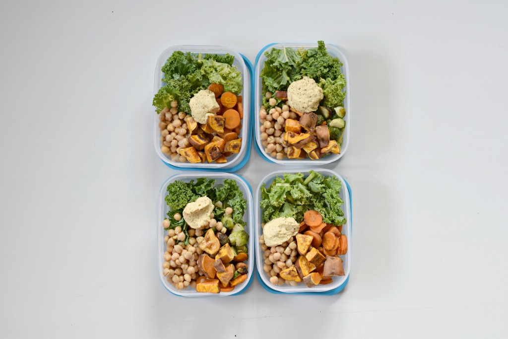 Beispiel für Meal Prep Bowl von Klara Fuchs