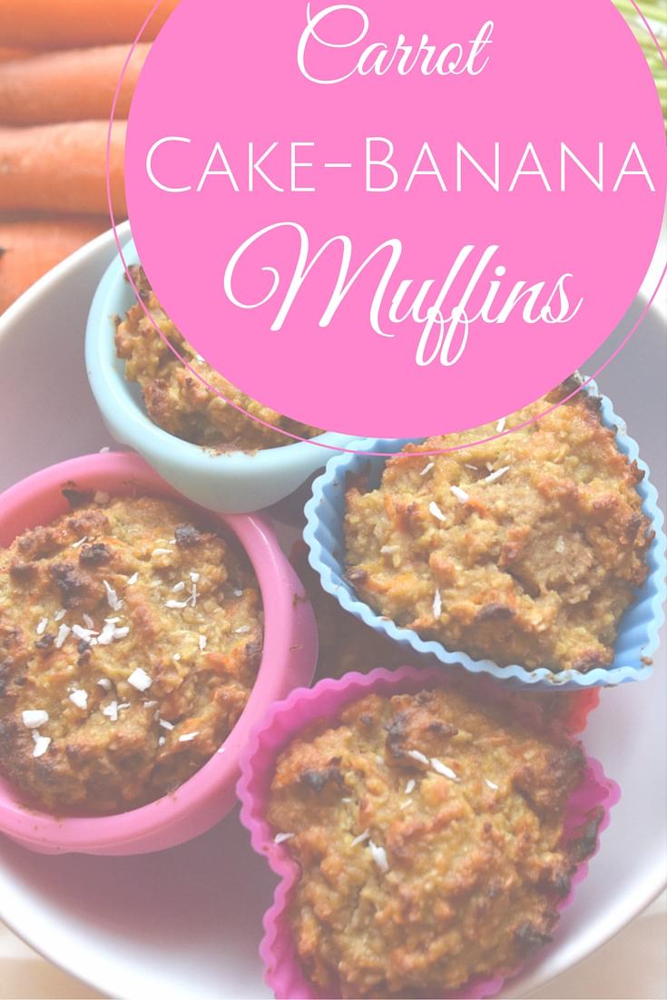 Karottenkuchen Bananen Muffins Klarafuchs Com