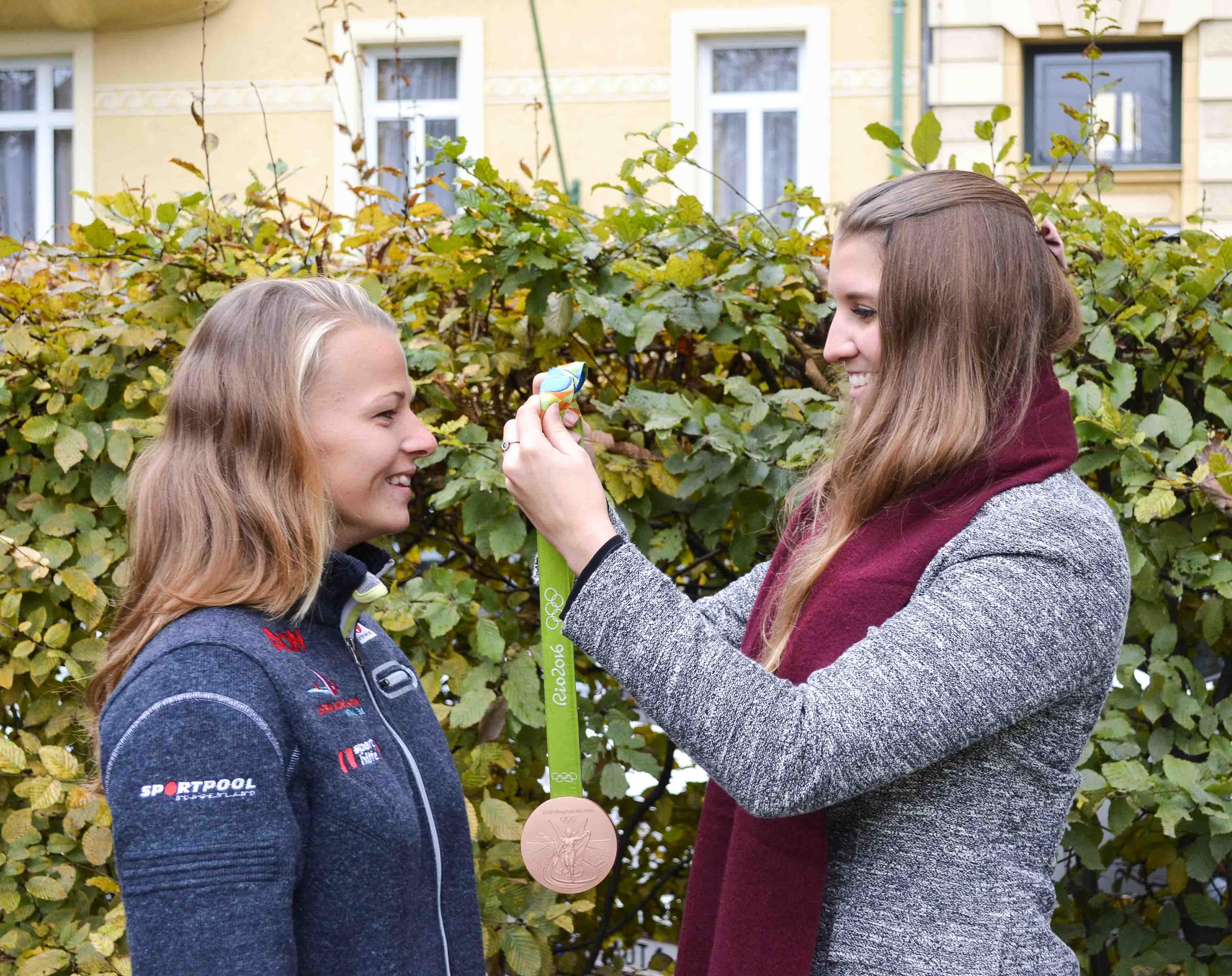Tanja Frank Olympiamedaillen Gewinnerin RIO 2016 Interview