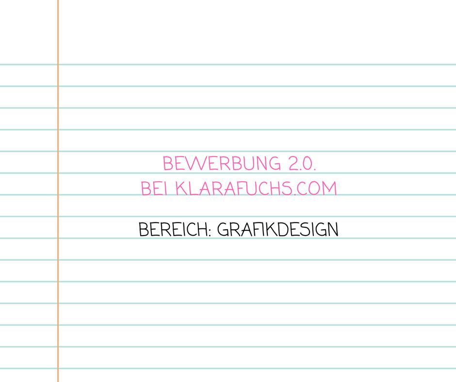 das team sucht wieder nach verstrkung bewerbung im bereich grafikdesign klarafuchscom - Bewerbung Grafikdesign