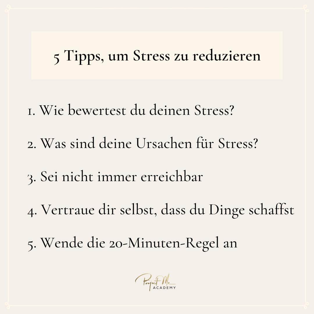 stress reduzieren stressmanagement stressprävention stress vermeiden mentaltraining