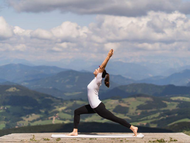 Klara Fuchs Yoga am Schöckl