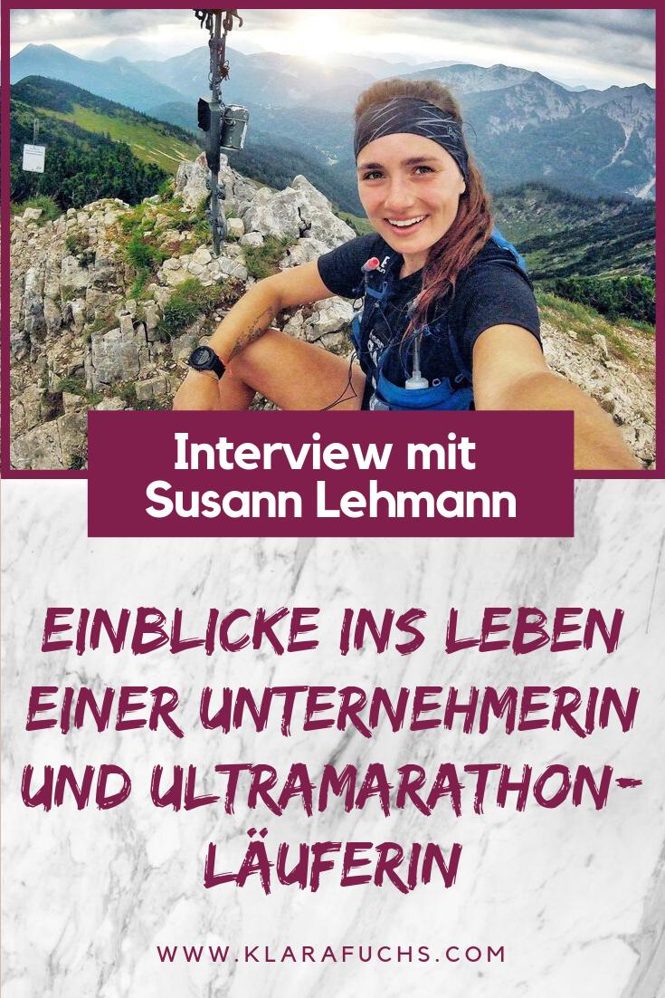 Interview mit Susann Lehman: Einblicke ins Leben einer Unternehmerin und Ultramarathon-Läuferin