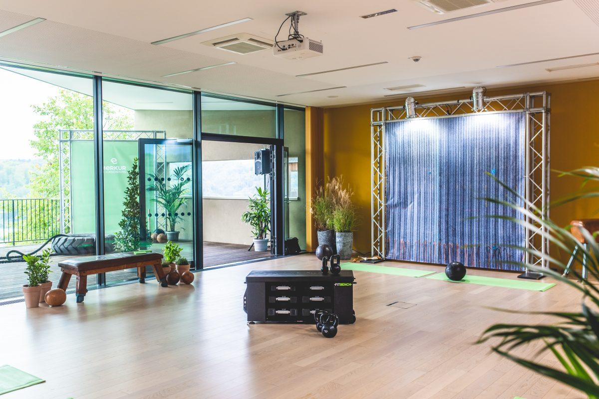 functional fitness area im LOISIUM für das Merkur fit4life Vorsorgeprogramm