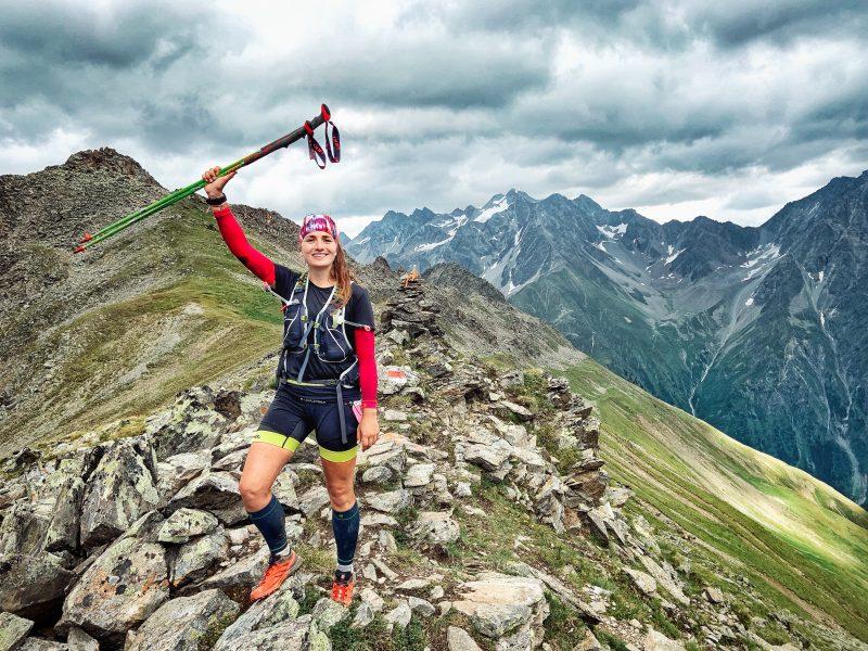 Susann Lehmann von runskills.de auf einem Berg