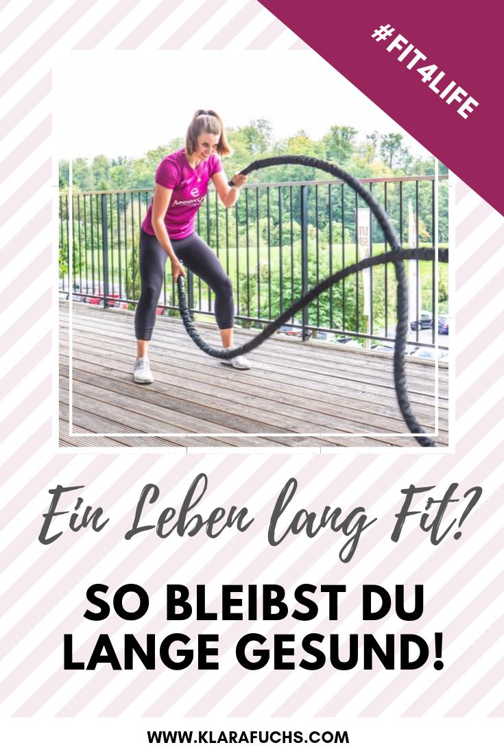 Willst du ein Leben lang fit sein? So bleibst du lange gesund!