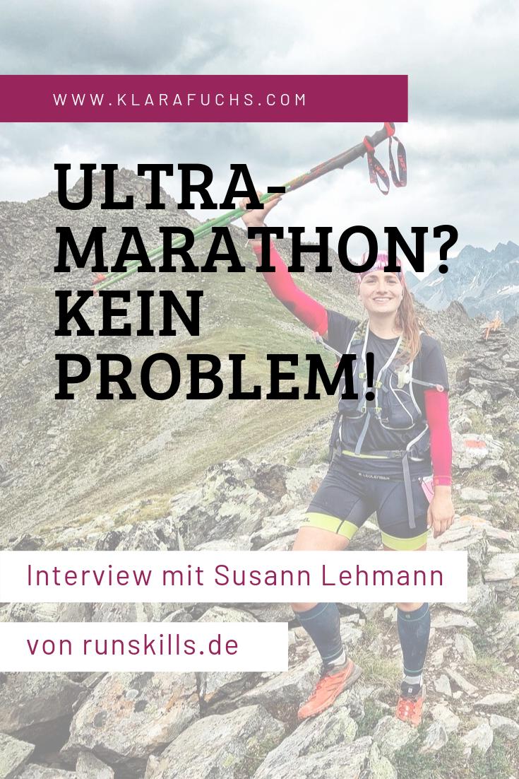 Ultramarathon? Kein Problem! Interview mit Susann Lehmann von runskills.de