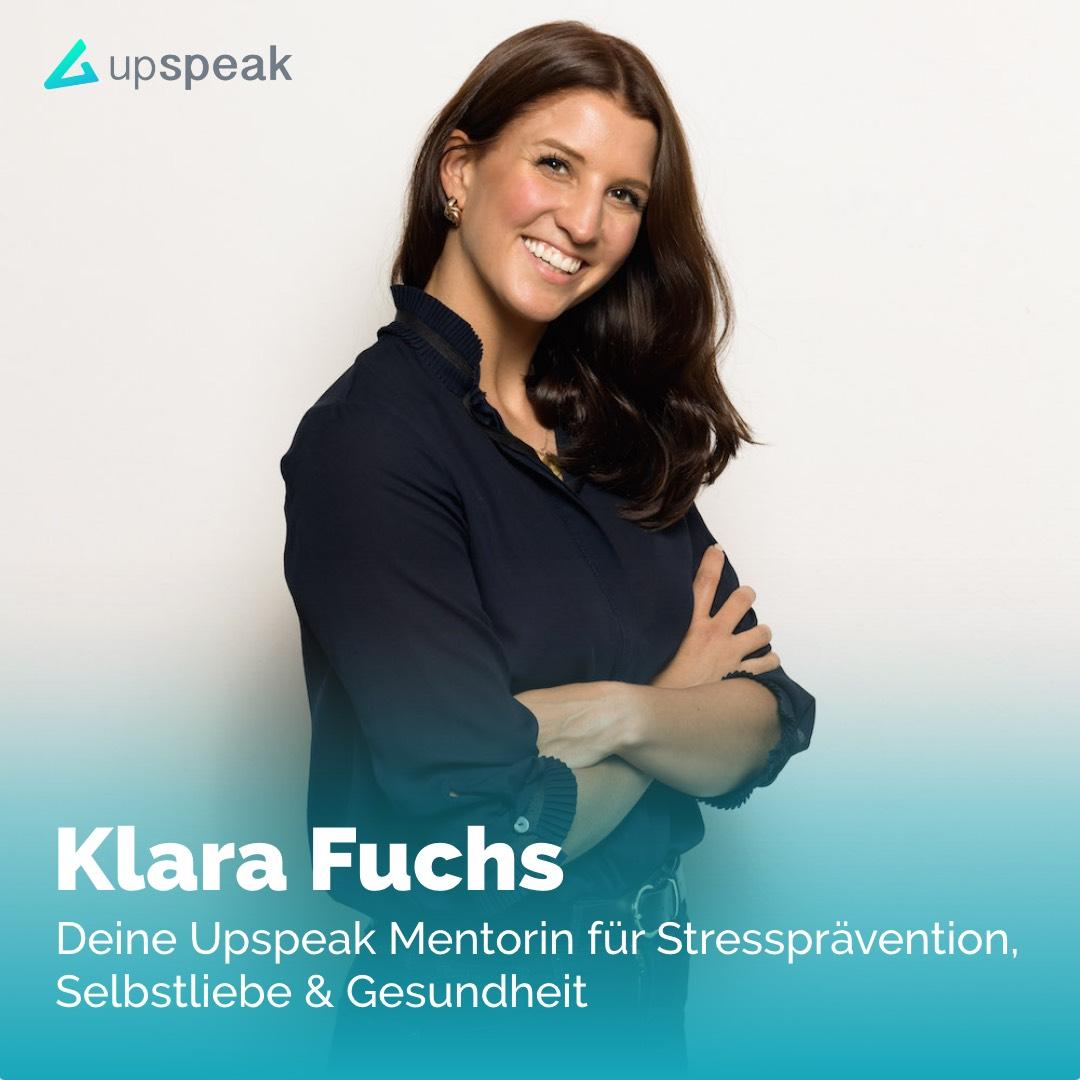 Upspeak: Klara Fuchs