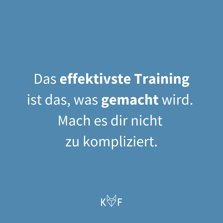 Zitat: Training